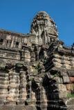 Σπασμένες αρχιτεκτονικές Angkor Wat Στοκ Φωτογραφίες