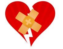 σπασμένη ζώνη καρδιά ενίσχυ&sig απεικόνιση αποθεμάτων