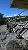 Σπασμένη διάβαση πεζών Στοκ εικόνα με δικαίωμα ελεύθερης χρήσης