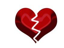 σπασμένη καρδιά Στοκ Φωτογραφίες