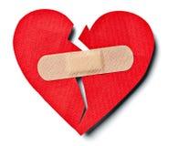 σπασμένη καρδιά Στοκ φωτογραφία με δικαίωμα ελεύθερης χρήσης
