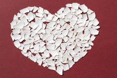 σπασμένη καρδιά Στοκ εικόνες με δικαίωμα ελεύθερης χρήσης