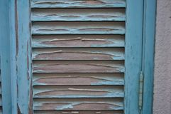 Σπασμένη ξύλινη πόρτα στοκ εικόνες