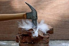 Σπασμένη πέτρα Στοκ Φωτογραφία