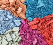 σπασμένη πολύχρωμη καθορι Στοκ εικόνες με δικαίωμα ελεύθερης χρήσης