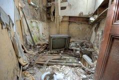 σπασμένη TV Στοκ Εικόνες