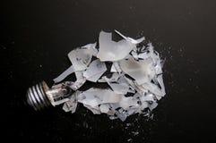 σπασμένος βολβός Στοκ εικόνες με δικαίωμα ελεύθερης χρήσης