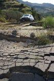 σπασμένος δρόμος στοκ φωτογραφία με δικαίωμα ελεύθερης χρήσης