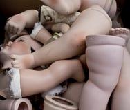 Σπασμένος μετακινηθείτε τα πόδια, το πρόσωπο και τα χέρια στοκ φωτογραφία με δικαίωμα ελεύθερης χρήσης
