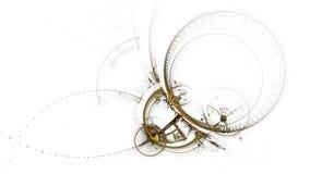 Σπασμένος μηχανισμός, αρχαίο μεταλλικό Cogwheel απόθεμα βίντεο