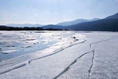 σπασμένος πάγος Στοκ εικόνα με δικαίωμα ελεύθερης χρήσης