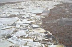 σπασμένος πάγος Στοκ Φωτογραφίες