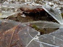σπασμένος πάγος Στοκ εικόνες με δικαίωμα ελεύθερης χρήσης