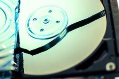 Σπασμένος σκληρός δίσκος Στοκ Φωτογραφίες