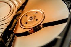 Σπασμένος σκληρός δίσκος Στοκ εικόνες με δικαίωμα ελεύθερης χρήσης