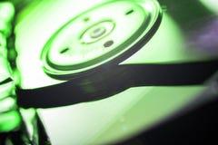 Σπασμένος σκληρός δίσκος Στοκ Φωτογραφία