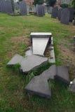 σπασμένος σταυρός Στοκ εικόνα με δικαίωμα ελεύθερης χρήσης