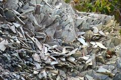 Σπασμένος τεμαχισμός πετρών στοκ φωτογραφία