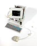 σπασμένος υπολογιστής στοκ φωτογραφία με δικαίωμα ελεύθερης χρήσης