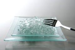 σπασμένος φάτε το γυαλί πρ Στοκ φωτογραφίες με δικαίωμα ελεύθερης χρήσης