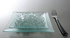 σπασμένος φάτε το γυαλί πρ Στοκ φωτογραφία με δικαίωμα ελεύθερης χρήσης