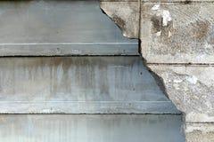 Σπασμένος φράκτης Cocrete Στοκ εικόνες με δικαίωμα ελεύθερης χρήσης
