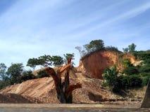 σπασμένος λόφος στοκ φωτογραφία