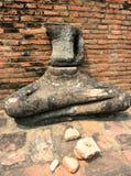 Σπασμένο άγαλμα του Βούδα, Ayutthaya Στοκ φωτογραφίες με δικαίωμα ελεύθερης χρήσης