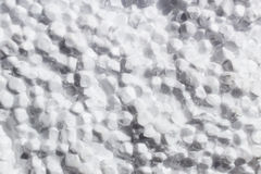 Σπασμένο άσπρο υπόβαθρο σύστασης polyfoam στοκ εικόνες