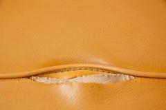σπασμένο ανασκόπηση δέρμα κίτρινο Στοκ Εικόνα