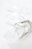 σπασμένο ανασκόπηση διανυσματικό λευκό απεικόνισης γυαλιού Στοκ εικόνες με δικαίωμα ελεύθερης χρήσης