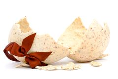 σπασμένο αυγό Πάσχας Στοκ εικόνες με δικαίωμα ελεύθερης χρήσης