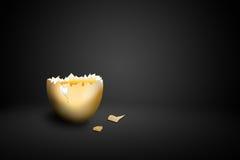 σπασμένο αυγό Στοκ Φωτογραφία