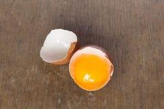 Σπασμένο αυγό Στοκ Εικόνες