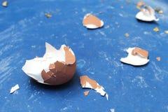 σπασμένο αυγό Στοκ εικόνες με δικαίωμα ελεύθερης χρήσης