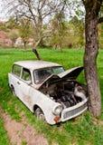 σπασμένο αυτοκίνητο παλαιό Στοκ φωτογραφία με δικαίωμα ελεύθερης χρήσης
