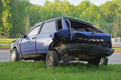 σπασμένο αυτοκίνητο Στοκ Φωτογραφία