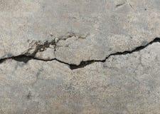 Σπασμένο βρώμικο παλαιό σκυρόδεμα για το υπόβαθρο Στοκ Φωτογραφία