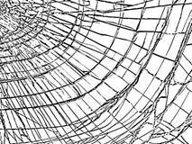 σπασμένο γυαλί Σύσταση ρωγμών Στοκ φωτογραφία με δικαίωμα ελεύθερης χρήσης