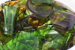 σπασμένο γυαλί χρώματος στοκ φωτογραφία με δικαίωμα ελεύθερης χρήσης