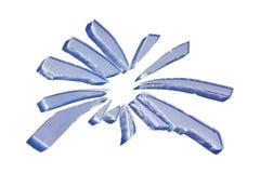 σπασμένο γυαλί Στοκ εικόνες με δικαίωμα ελεύθερης χρήσης