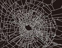 σπασμένο γυαλί απεικόνιση αποθεμάτων