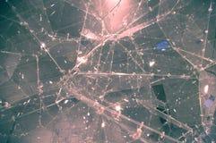 Σπασμένο γλυπτό γυαλιού Στοκ εικόνες με δικαίωμα ελεύθερης χρήσης