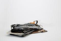 σπασμένο κινητό τηλέφωνο Στοκ φωτογραφίες με δικαίωμα ελεύθερης χρήσης