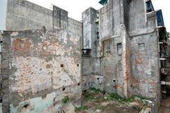 σπασμένο κτήριο Στοκ Εικόνες