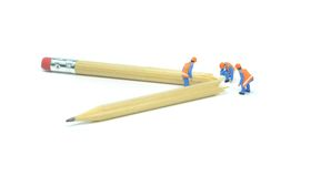 Σπασμένο μολύβι Στοκ φωτογραφία με δικαίωμα ελεύθερης χρήσης