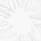 σπασμένο παράθυρο γυαλι& Στοκ Εικόνες