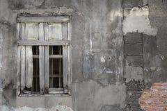 σπασμένο παράθυρο Στοκ φωτογραφία με δικαίωμα ελεύθερης χρήσης