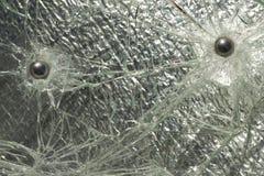 σπασμένο πλάνο γυαλιού σ&phi Στοκ Φωτογραφίες