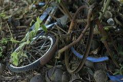 Σπασμένο ποδήλατο Στοκ εικόνα με δικαίωμα ελεύθερης χρήσης